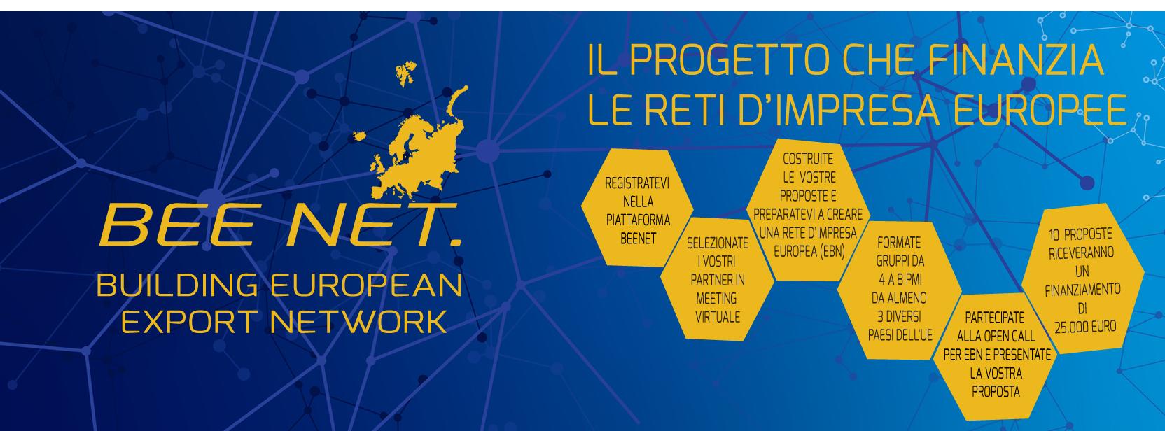 BEE NET B(uilding) E(uropean) E(xport) Net(works): Il progetto che finanzia le Reti d'Impresa europee