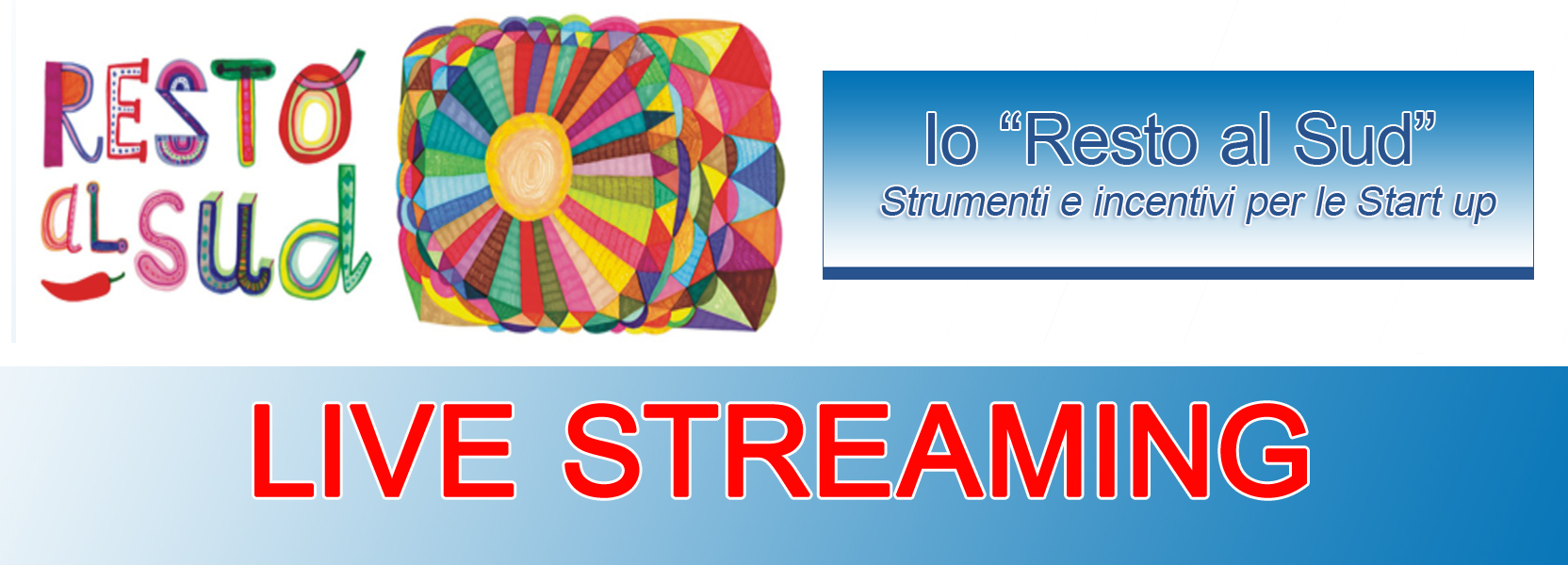 Streaming io Resto al Sud