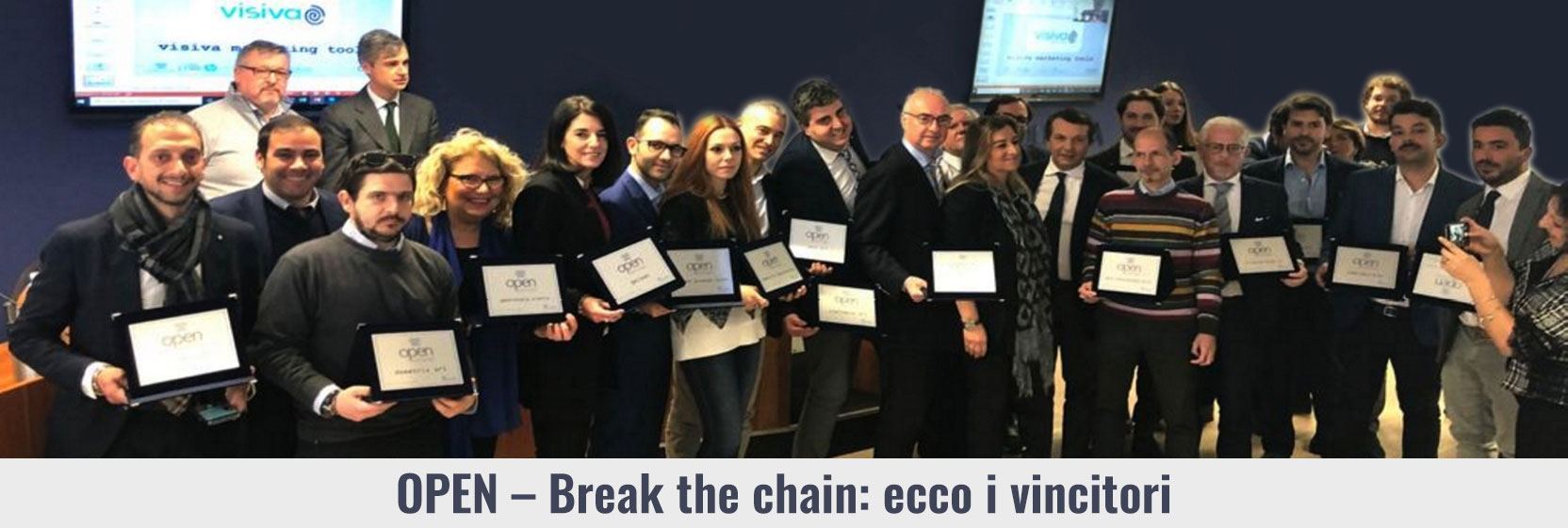 Open Break the chain - i vincitori
